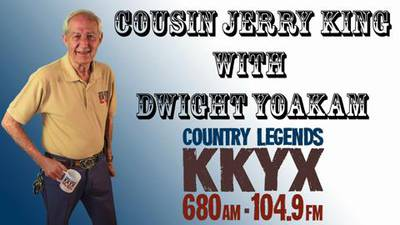Cousin Jerry King With Dwight Yoakam