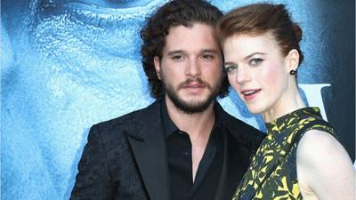'Game of Thrones' stars Rose Leslie and Kit Harington expecting first child