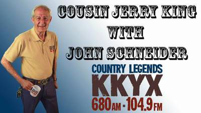 Cousin Jerry King with John Schneider