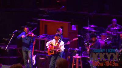 George Strait at Cowboys with KKYX