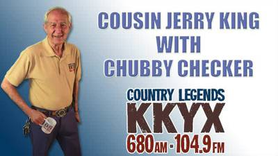 Jerry King and Chubby Checker