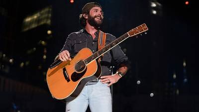 VIDEO: Thomas Rhett Celebrates His 18th Number One By Watching Moana With Daughter, Lennon