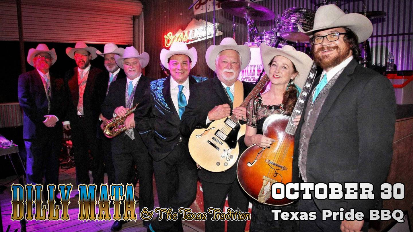 Enter to Win Tickets to Billy Mata and the Texas Tradition at at Texas Pride BBQ