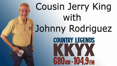 Cousin Jerry King with Johnny Rodriguez