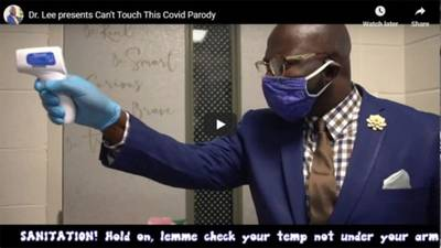 Alabama high school principal's 'Can't Touch This' parody goes viral