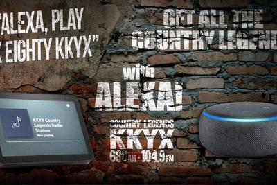 Listen to KKYX on Your Amazon Echo with Alexa