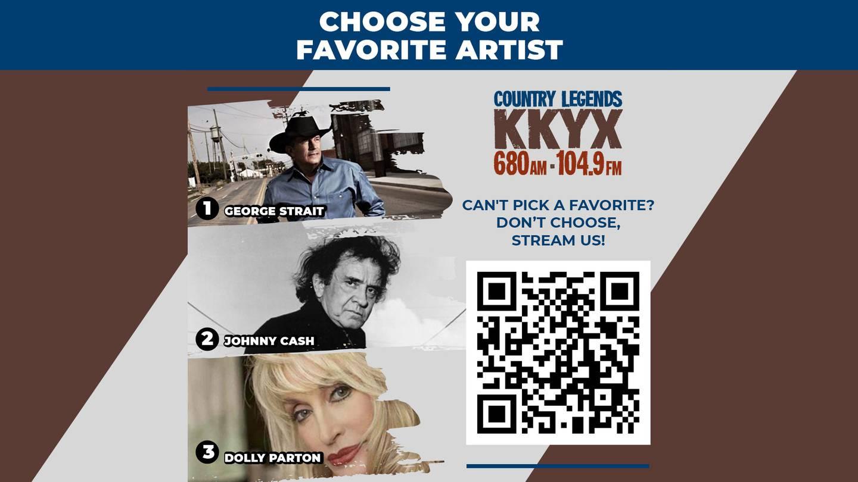 LISTEN LIVE: Listen to Country Legends KKYX now!