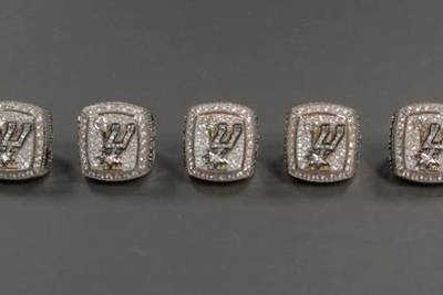 Spurs 2014 NBA Championship Rings WEB VIDEO