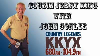 Cousin Jerry King with John Conlee